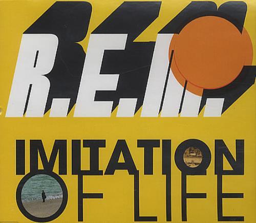 "REM Imitation Of Life CD single (CD5 / 5"") UK REMC5IM247335"
