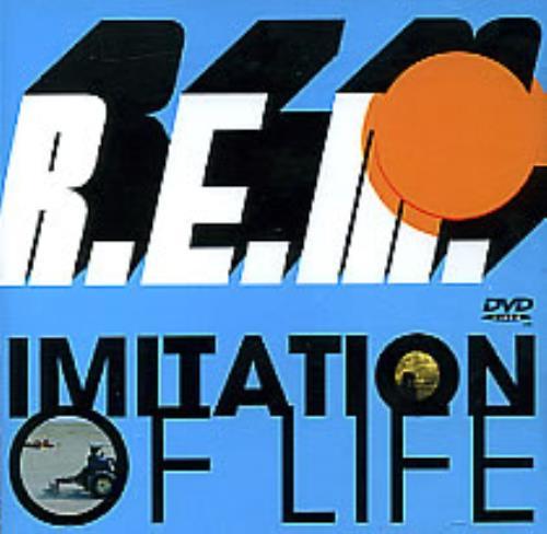 REM Imitation Of Life DVD Single UK REMDSIM269129