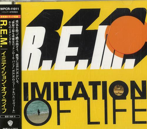 "REM Imitation Of Life CD single (CD5 / 5"") Japanese REMC5IM599721"