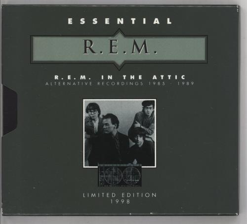 REM In The Attic CD album (CDLP) US REMCDIN121357