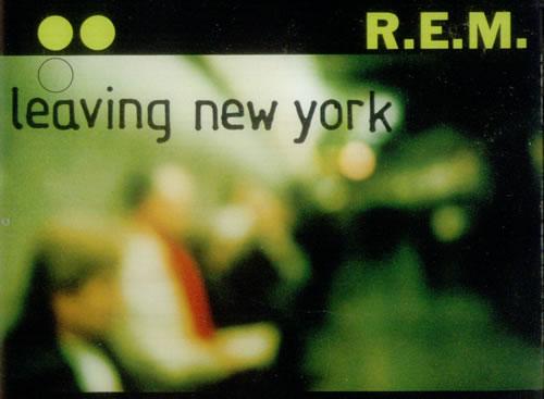 REM Leaving New York 2-CD single set (Double CD single) UK REM2SLE302720