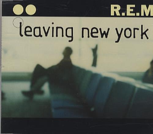 "REM Leaving New York CD single (CD5 / 5"") UK REMC5LE305122"