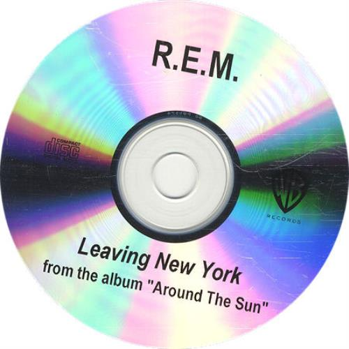 REM Leaving New York CD-R acetate US REMCRLE312700