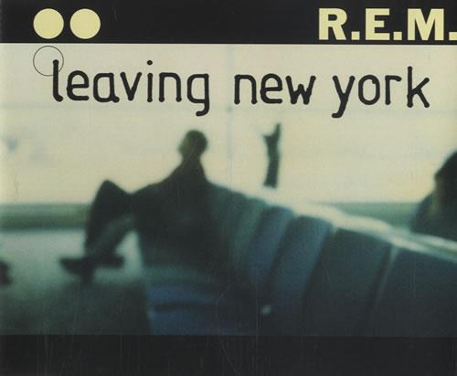 """REM Leaving New York CD single (CD5 / 5"""") Australian REMC5LE462652"""