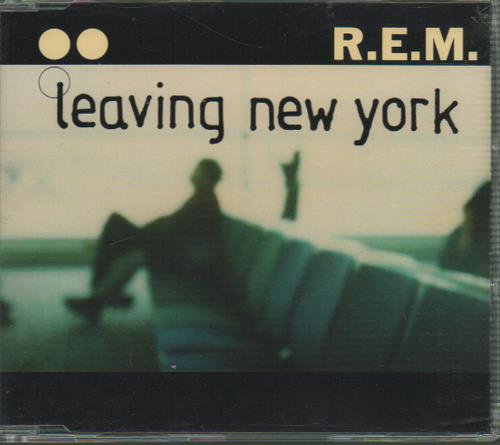 "REM Leaving New York CD single (CD5 / 5"") UK REMC5LE646189"