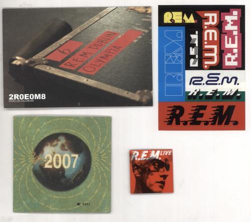"REM Merry Xmas Everybody - Fanclub Single CD single (CD5 / 5"") US REMC5ME424454"