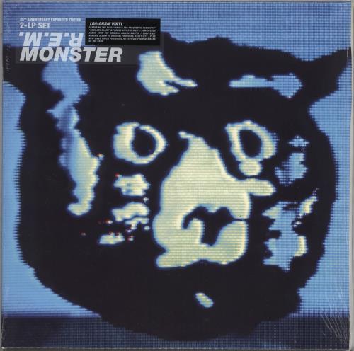 REM Monster - 180gm - Sealed 2-LP vinyl record set (Double Album) UK REM2LMO733040