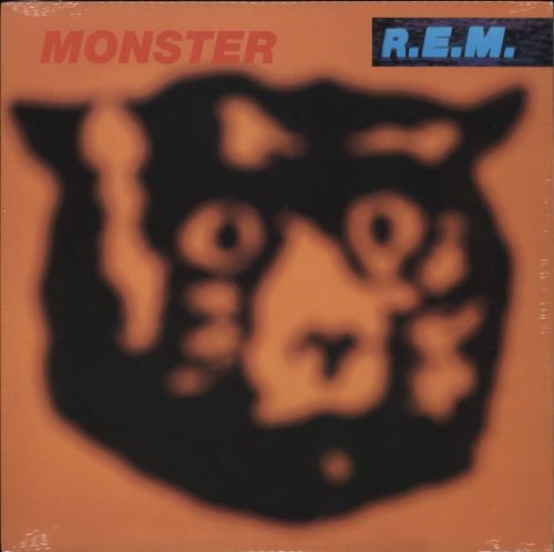 REM Monster - Sealed vinyl LP album (LP record) US REMLPMO707824