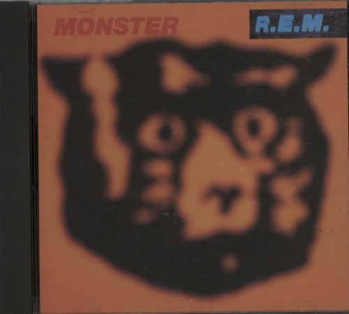 REM Monster CD album (CDLP) UK REMCDMO621376