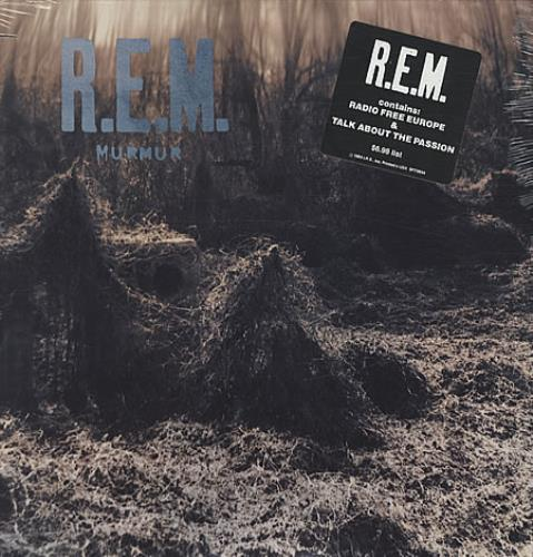 REM Murmur - 2nd vinyl LP album (LP record) US REMLPMU329047