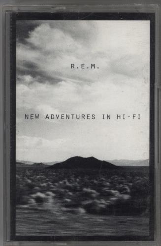 REM New Adventures In Hi-Fi cassette album UK REMCLNE769322