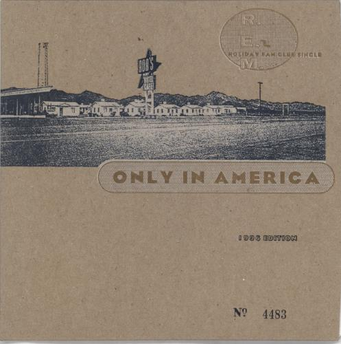 """REM Only In America - Complete + Mailer 7"""" vinyl single (7 inch record) US REM07ON98973"""