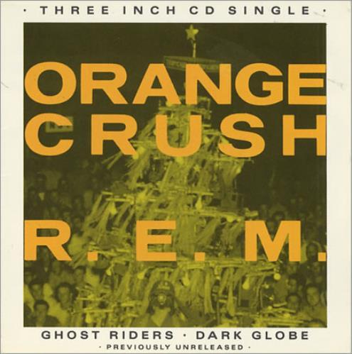 "REM Orange Crush 3"" CD single (CD3) UK REMC3OR59219"