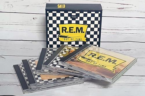 REM Out Of Time - 5 X CD box set box set US REMBXOU345553