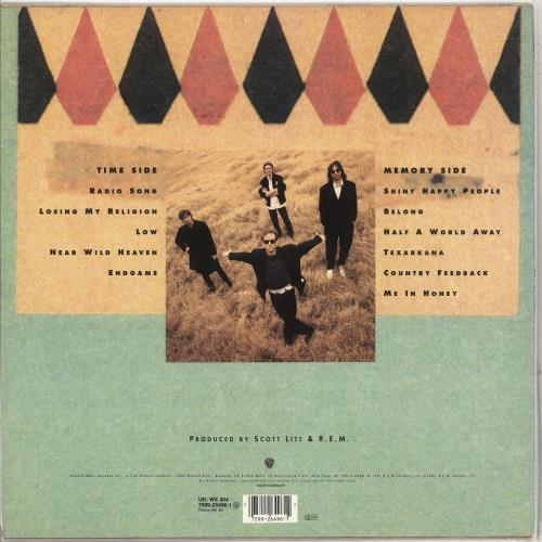 REM Out Of Time - EX vinyl LP album (LP record) German REMLPOU712549