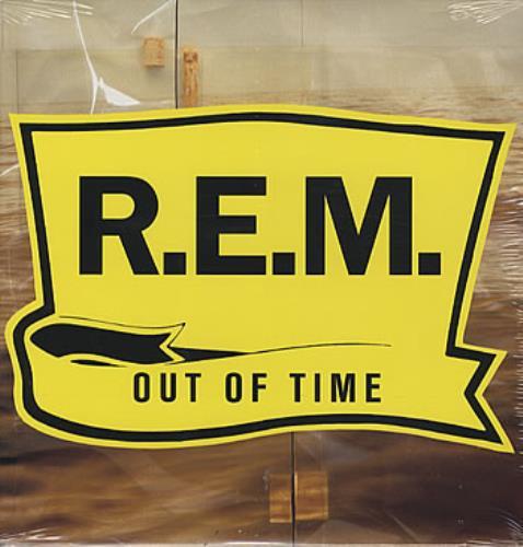 REM Out Of Time - Sealed vinyl LP album (LP record) German REMLPOU251852