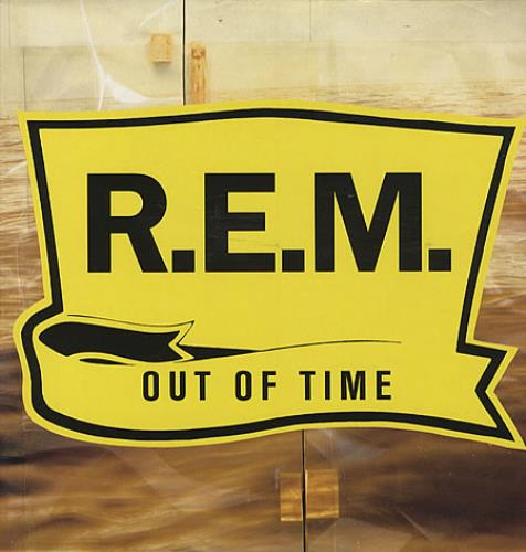 REM Out Of Time vinyl LP album (LP record) UK REMLPOU179685