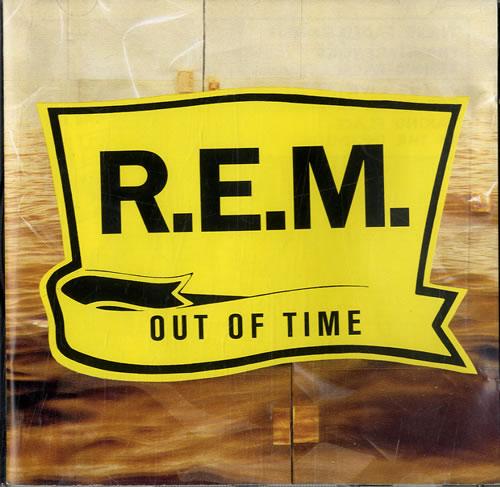REM Out Of Time CD album (CDLP) UK REMCDOU581139