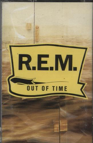 REM Out Of Time cassette album UK REMCLOU769324