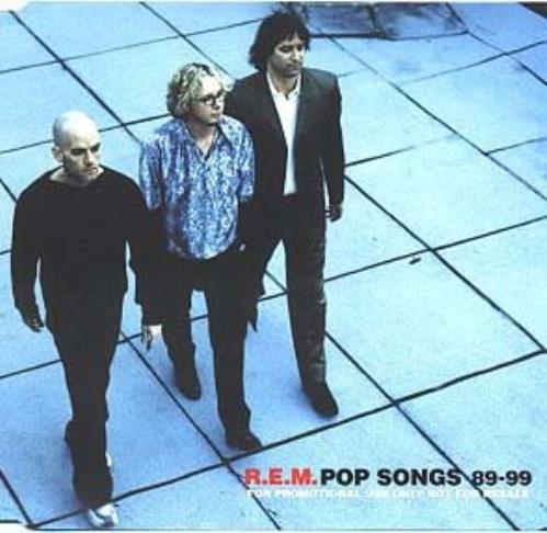 REM Pop Songs 89-99 CD album (CDLP) UK REMCDPO139466