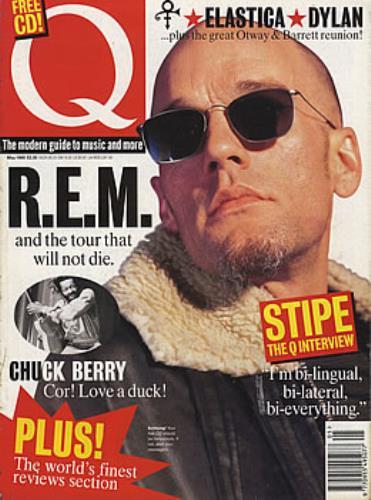 REM Q Magazine - May 1995 magazine UK REMMAQM384754