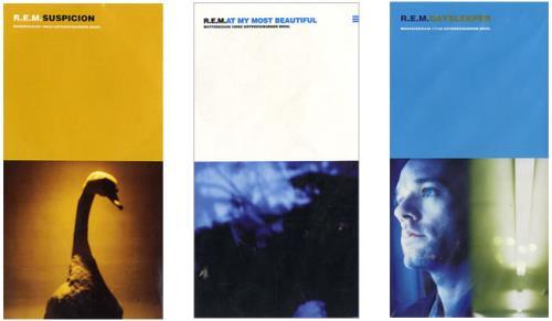 """REM Quantity Of 3"""" CD Singles 3"""" CD single (CD3) US REMC3QU485607"""