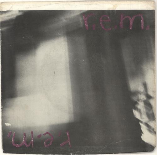 "REM Radio Free Europe - 2nd - VG 7"" vinyl single (7 inch record) US REM07RA746164"