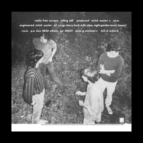 "REM Radio Free Europe - 40th Anniversary 7"" vinyl single (7 inch record) US REM07RA772404"