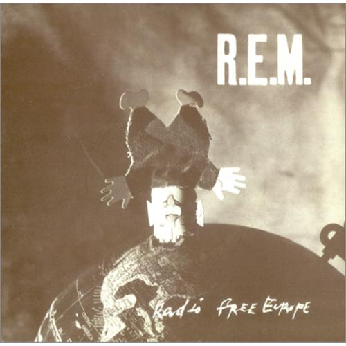"REM Radio Free Europe 7"" vinyl single (7 inch record) UK REM07RA106791"