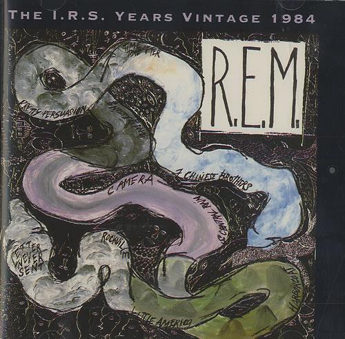 REM Reckoning CD album (CDLP) German REMCDRE06662