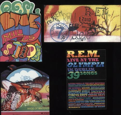 "REM Santa Baby - Fanclub Pack 2009 CD single (CD5 / 5"") US REMC5SA746373"