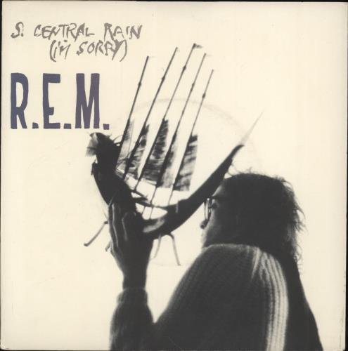 "REM So. Central Rain (I'm Sorry) 7"" vinyl single (7 inch record) UK REM07SO52988"