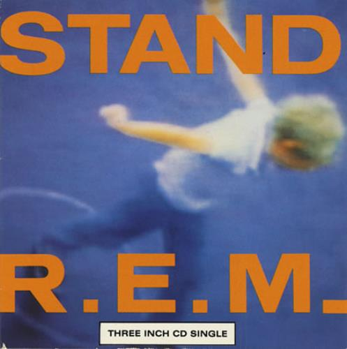 "REM Stand - 1st Issue 3"" CD single (CD3) UK REMC3ST62092"