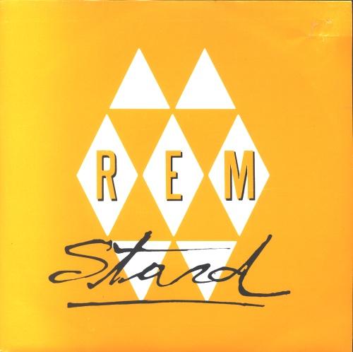 "REM Stand 7"" vinyl single (7 inch record) Spanish REM07ST10894"