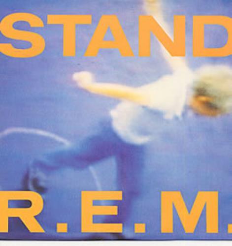 "REM Stand 12"" vinyl single (12 inch record / Maxi-single) UK REM12ST41809"