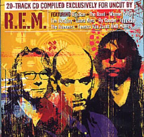 REM Strange Currencies CD album (CDLP) US REMCDST267551