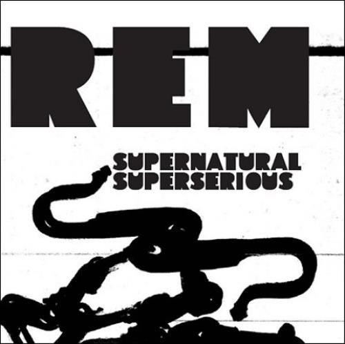 """REM Supernatural Superserious CD single (CD5 / 5"""") UK REMC5SU427597"""