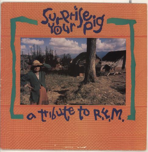 REM Surprise Your Pig - A Tribute To R.E.M. + 7 vinyl LP album (LP record) US REMLPSU733577