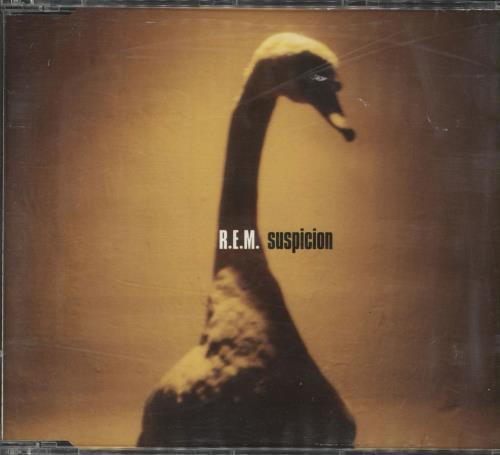 "REM Suspicion CD single (CD5 / 5"") UK REMC5SU165010"