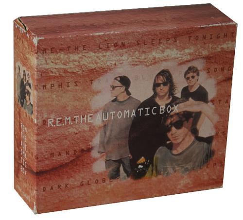 REM The Automatic Box box set German REMBXTH22964