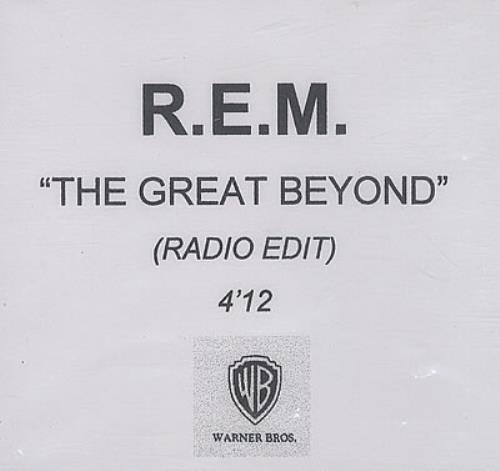REM The Great Beyond CD-R acetate UK REMCRTH150708