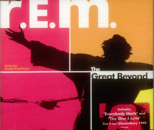 "REM The Great Beyond CD single (CD5 / 5"") UK REMC5TH162548"