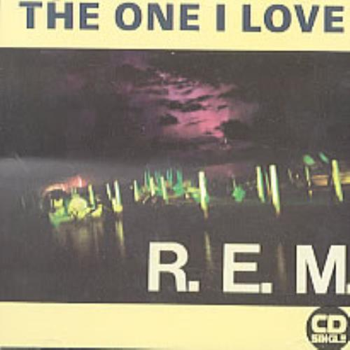 "REM The One I Love CD single (CD5 / 5"") UK REMC5TH129094"