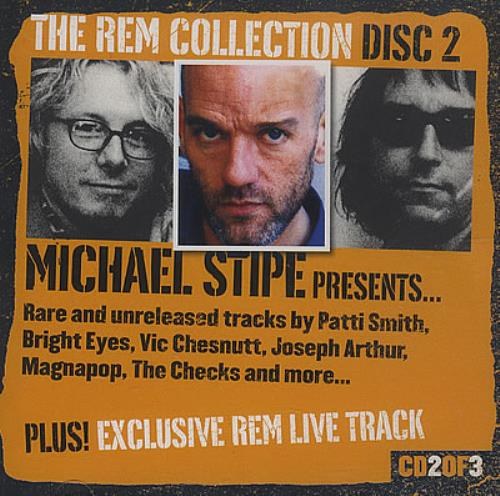 REM The REM Collection Disc 2 Michael Stipe presents... CD album (CDLP) UK REMCDTH373879