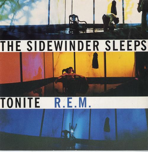 "REM The Sidewinder Sleeps Tonight 7"" vinyl single (7 inch record) UK REM07TH77045"