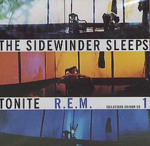 "REM The Sidewinder Sleeps Tonite - Part 1 CD single (CD5 / 5"") UK REMC5TH53922"