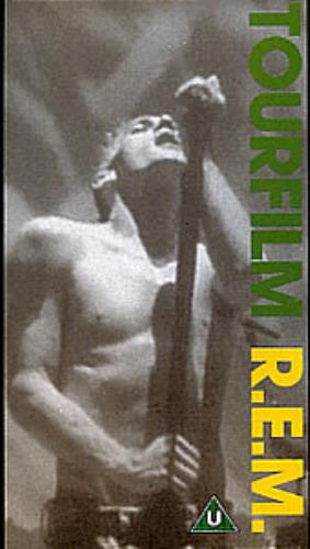 REM Tourfilm video (VHS or PAL or NTSC) UK REMVITO224485