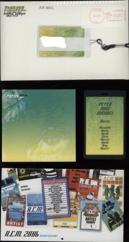 REM Turn You Inside Out - Fanclub Pack 2005 DVD Single US REMDSTU395285