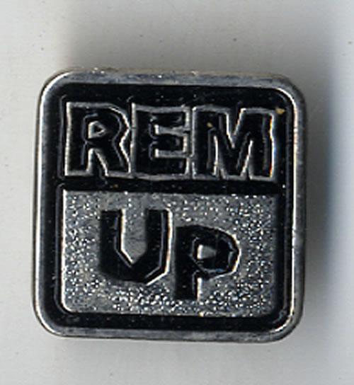 REM Up badge UK REMBGUP596024