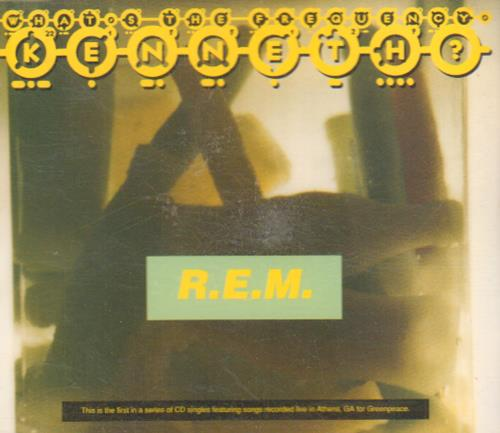 "REM What's The Frequency Kenneth CD single (CD5 / 5"") German REMC5WH673655"